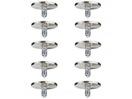 Zápustné halogen podhledové svítidlo Paulmann 10x10W