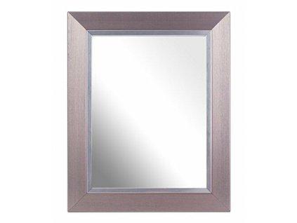 Zrcadlo s rámem - stříbrná 20x15 cm