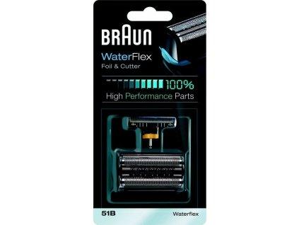 Příslušenství pro holicí strojky Braun CombiPack Series 5 / 51B / - černé / ROZBALENO