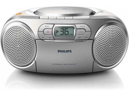 CD přehrávač Philips AZ127 s radiomagnetofonem / CD / CD-RW / FM / ROZBALENO