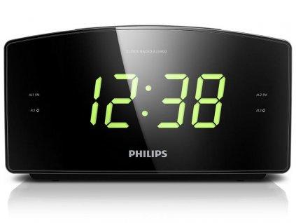 Radiobudík Philips AJ3400 - černý / ZÁNOVNÍ