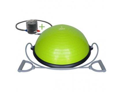 Balanční podložka LIFEFIT BALANCE BALL 58 cm + pumpa / zelená / ZÁNOVNÍ