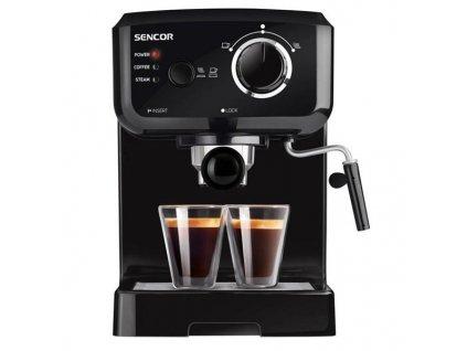 Espresso Sencor SES 1710BK - černé / ZÁNOVNÍ