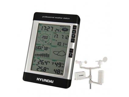 Meteorologická stanice Hyundai WSP 3080 R WIND - černá / ZÁNOVNÍ