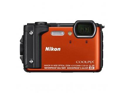 Digitální fotoaparát Nikon Coolpix W300, Holiday Kit - oranžový / ROZBALENO