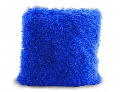 Povlak na polštář ELMO 40 x 40 cm - Safírově modrý