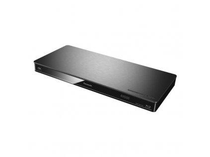 Blu-ray přehrávač Panasonic DMP-BDT381EG - stříbrný / ROZBALENO