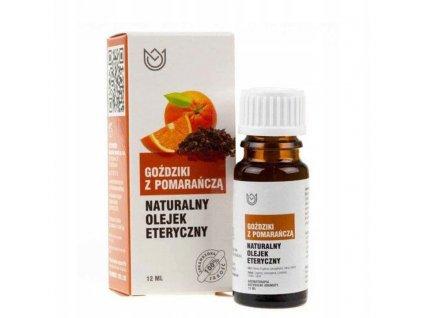 Přírodní éterický olej / 12 ml / hřebíček s pomerančem