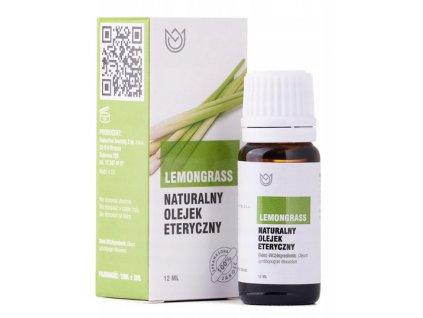 Přírodní éterický olej / 12 ml / citronová tráva
