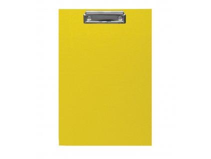 Podložka psací A4 s klipem, Imperator CP / žlutá