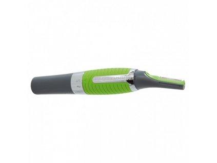 Micro touch Maxx - Zastřihovač vousů a vlasů 1,5 V šedo/zelený