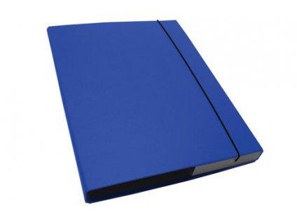 Desky s boxem CAESAR OFFICE IMPERATOR A4 3 cm - sv.modrá