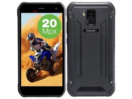 Mobilní telefon Evolveo StrongPhone G8 / černá / ROZBALENO