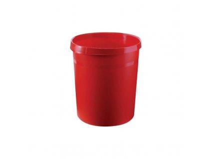 Odpadkový koš HAN / 18L, červený