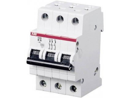Jistič16A jednofázový elektrický ABB S203-B32