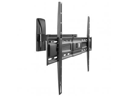 Držák TV Meliconi SlimStyle Plus 600 SR / pro úhlopříčky od 50 ″ do 82 ″/ nosnost 30 kg / černý / zánovní