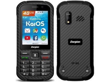 Mobilní telefon Energizer Hardcase H280S LTE / černá / ROZBALENO