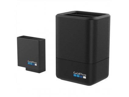 Nabíječka GoPro Dual Battery Charger + Battery / ROZBALENO