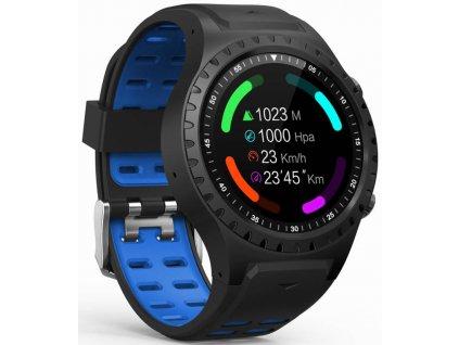 Chytré hodinky Evolveo SportWatch M1S (SPW-M1S-BLUE) / modrá / ROZBALENO