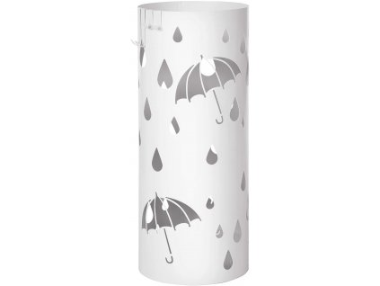 Stojan na deštníky LUC23W / bílá