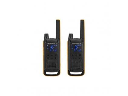 Vysílačky Motorola TLKR T82 Extreme (D8P00811YDEMAG) černý/žlutý