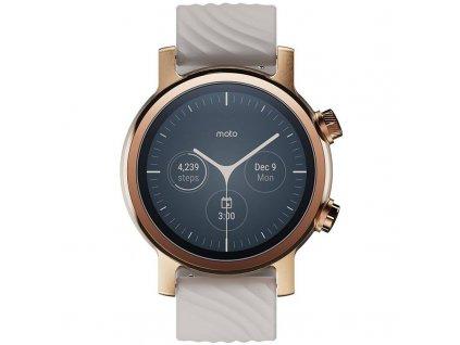 Chytré hodinky Motorola Moto 360 3. generace / zlatá / ROZBALENO