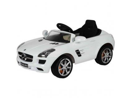 Elektrické autíčko Buddy Toys BEC 7110 Mercedes SLS bílá / ZÁNOVNÍ