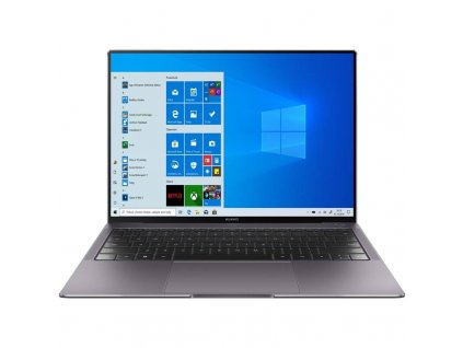 Notebook Huawei MateBook X Pro 2020 (53010VVN) / šedý / 3000×2000 px / dotykový 3K displej / úložiště SSD 1 000 GB / RAM 16 GB / operační systém Windows 10 Pro / ROZBALENO