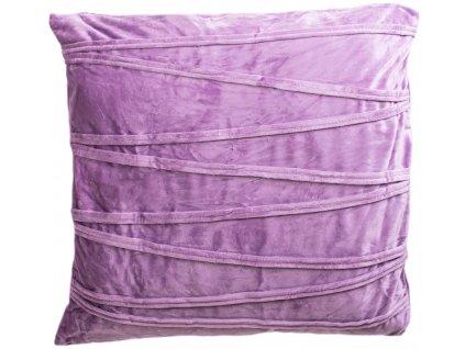 Povlak na polštář Ella / 45 x 45 cm / fialová