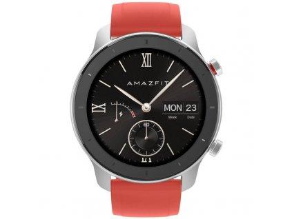 Chytré hodinky Amazfit GTR 42 mm - Coral Red (A1910-CR) / ROZBALENO