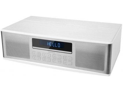Audio systém Medion MD 43180 / MP3 / CD / BT / USB / bílá / zánovní