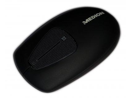 Bezdrátová myš Medion LIFE MD 87409 / Bluetooth / černá / zánovní