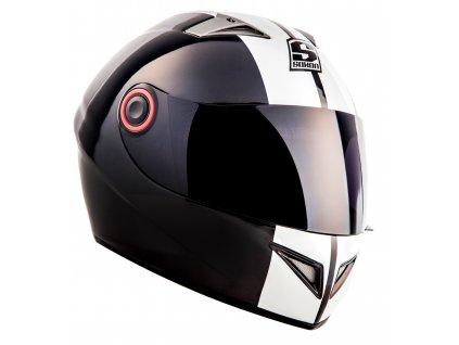 Integrální helma SOXON ST-666 Deluxe Snow / L