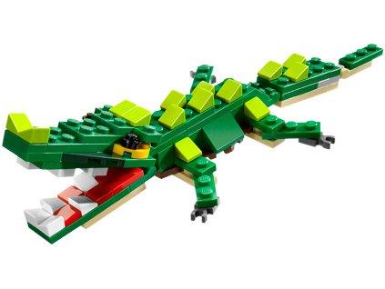 LEGO Creator 20015: BrickMaster Krokodýl / 89 dílků