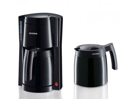 Překapávací kávovar + 2 termokonvice Severin KA 9234 / 800 W / 1 l