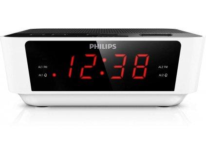 Rádiobudík Philips AJ3115 / AM/FM / Snooze / Sleep / Zánovní