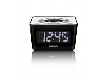 Rádiobudík s projekcí času Lenco CR-16 / Snooze / Sleep