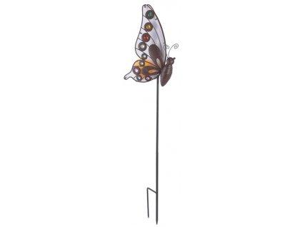 Solární lampa LeuchtenDirekt 19703-48 / LED / 0,06 W / motýl / IP44