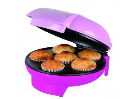 Výrobník dortů Orbegozo / WL 3000 / 1400 W / kapacita 6 šálků dortů / nepřilnavost / ochrana proti přehřátí / cupcake / dortík / mufin / dort