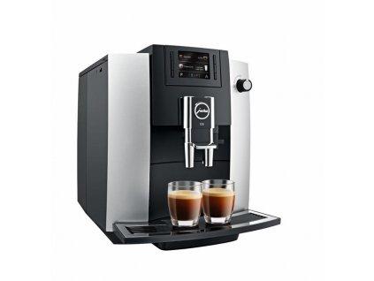 Espresso Jura IMPRESSA E6, Platin / 381044