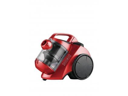 Bezsáčkový vysavač Royalty Line / PSC-1200.7NE / červený / 1000 W / zánovní