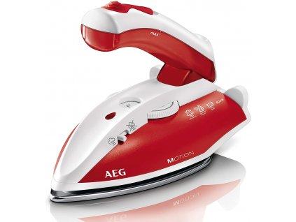 Napařovací žehlička AEG DBT800 cestovní - červená / ROZBALENO