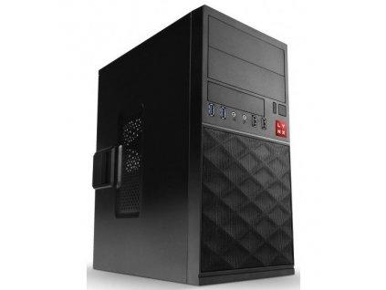 Počítač Lynx Office Pentium Gold G5400, 8GB, 240GB, DVD±R/RW, HD 610, Win10 Pro / ROZBALENO