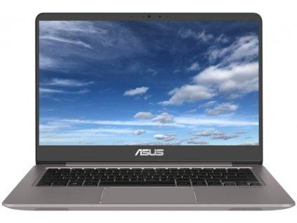 """Ntb Asus Zenbook UX410UA-GV024 i3-7100U, 4GB, 128GB, 14"""", Full HD, bez mechaniky, Intel HD 620, BT, CAM, bez OS - šedý"""