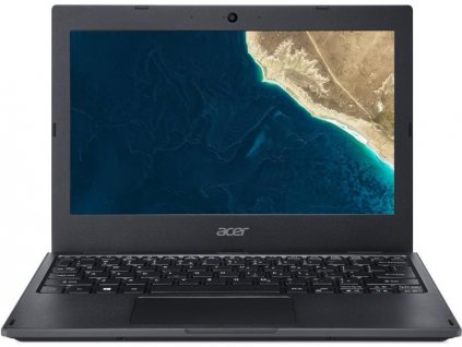 "Ntb Acer TravelMate TMB118-M-P01B, (NX.VHSEC.001), Pentium Silver N5000, 4GB, 64GB, 11.6"", HD, bez mechaniky, Intel UHD 605, BT, CAM, Win10 Pro - černý"