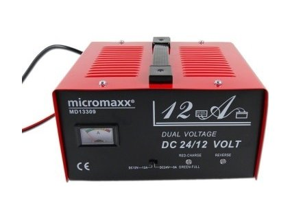 Nabíječka autobaterií Micromaxx 13309 - 12 /24 V / ZÁNOVNÍ