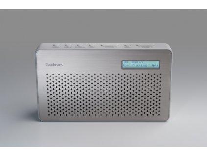 Goodmans Portable DAB digital and FM Radio GMR1886DAB |rádio|