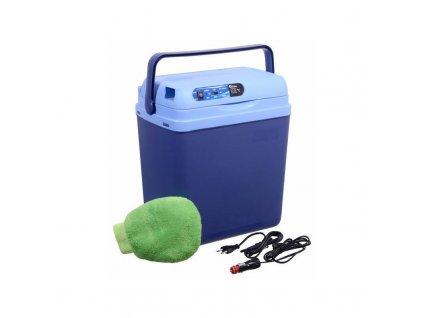 Chladicí box Compass 25 l BLUE 220 / 12 V displej s teplotou / ROZBALENO