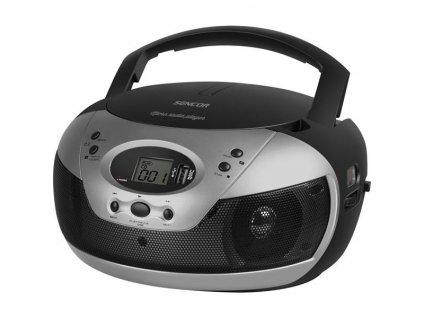 Radiopřijímač s CD Sencor SPT 229 B černý/stříbrný / ZÁNOVNÍ