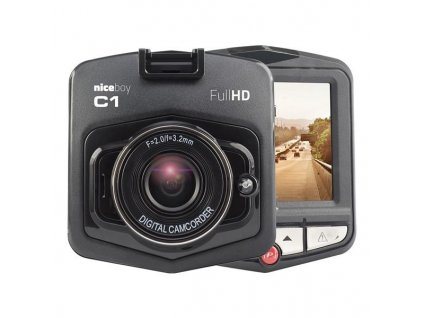 Autokamera Niceboy C1 - černá / ZÁNOVNÍ